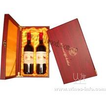 高档皮质红酒盒,PU高档红酒盒,皮质包装红酒盒(飞展包装)