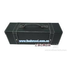 皮质红酒盒包装,高档皮质红酒盒(现货特价 最低价)