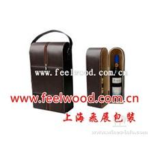皮革红酒盒、仿皮酒盒、皮革葡萄酒盒(现货特价 9月中秋特价特卖)
