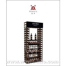 波多新型展示架 A型/葡萄酒陈列架/红酒实木展示架