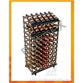 波多柜台式新型展示储藏组合酒架/自我安装红酒架