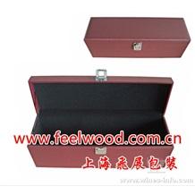 进口红酒盒、白酒木盒、带配件酒盒(上海飞展红酒包装盒2011年)