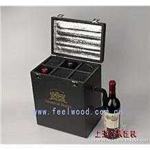 红酒盒木盒、红酒包装、红酒礼盒(上海飞展红酒盒2011年)