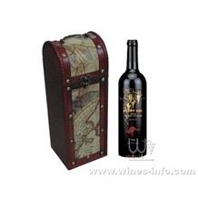 皮质红酒包装盒,高档皮质红酒盒(上海飞展红酒盒2011年)