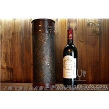 皮质红酒盒包装,高档皮质红酒盒(上海飞展红酒盒2011年)