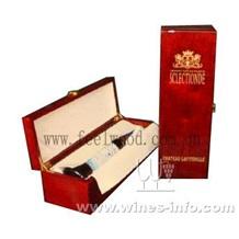进口红酒盒、白酒木盒、带配件酒盒(上海飞展红酒盒2011年)
