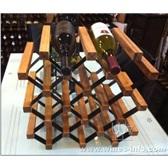 波多新型纹理形组合式红酒架/家庭自装红酒架