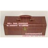 木纹单支皮盒