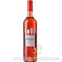 西班牙慕利桃红葡萄酒