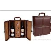 葡萄酒皮盒子