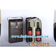 现货单排六支装松木红酒礼品包装盒 实木红酒盒 六支装松木酒盒 飞展红酒盒
