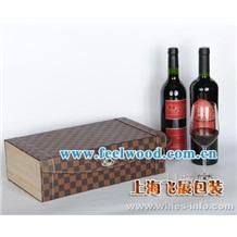 供应单支PU皮制红酒盒/双支三支四支六装红酒盒