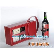 2012年飞展新款现货 葡萄酒盒 红酒盒 包装盒 红酒包装盒 礼品盒