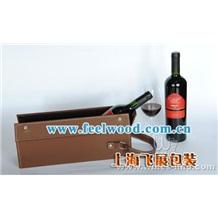 供应松木盒/葡萄酒盒/单支装酒盒/双支装红酒盒 (飞展红酒盒)