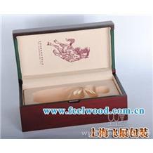 【酒盒专业生厂商】供应 单支装红酒盒 雕刻Logo 优质五金配件 (飞展红酒盒)