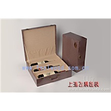 厂价直销红酒双支木盒 红酒木盒 木制红酒盒 木质红酒盒 红酒盒 飞展红酒盒