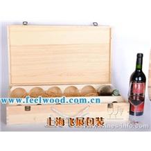 上海飞展  供应单瓶酒盒、原装红酒盒、葡萄酒盒、木质红酒包装盒
