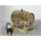 5L橡木紅酒桶酒窖專用橡木桶橡木酒具橡木裝飾木桶葡萄酒桶