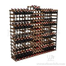 波多实木酒架1.55m长新型展示储藏架