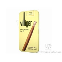 威利6号雪茄 Villiger Premium No.6