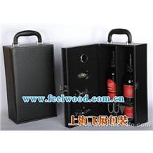 【本厂热销】木制葡萄酒盒、红酒盒木盒、红酒盒包装(飞展包装)