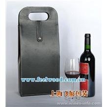 供应高档酒盒 皮质酒盒 木质酒盒 红酒包装盒 葡萄酒盒 仿红木盒 (飞展红酒盒)