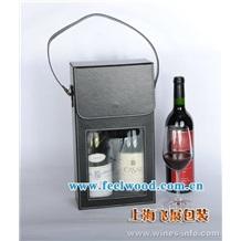 飞展红酒礼盒 六支木盒 仿古皮酒盒 红酒包装盒 葡萄酒盒 高档红酒盒