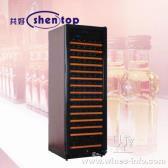 上海 共好 红酒柜 压缩机红酒柜 单温直冷式红酒柜 恒温酒柜 STH-G168UA(168支装)