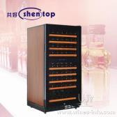 上海红酒柜 共好STH-G80UB 红酒柜 压缩机红酒柜 双温风冷式红酒柜 76支装 标准配置