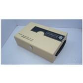 白色双支冰酒皮盒,高档纸盒皮盒冰酒盒定做,专业冰酒盒生产厂家