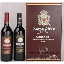 现货批发皮质单支酒盒、高档PU皮红酒包装盒、上海飞展红酒皮盒  2012年