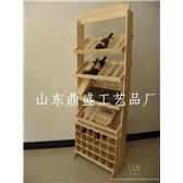 实木酒架、创意木制酒架、木质葡萄酒柜、红酒展示架、定做木酒架