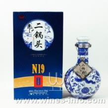 牛栏山二锅头N19珍品陈酿52度(瓶装500ml)