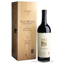 姚明·那帕谷家族珍藏赤霞珠2009干红葡萄酒 2009 Family Reserve Napa Valley Cabernet Sauvignon