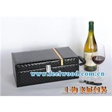 现货供应红酒包装盒 松木红酒盒  木质红酒盒