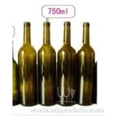 750ml 葡萄酒瓶 红酒瓶