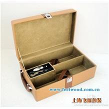 2013年新年款红酒包装盒、皮质红酒盒