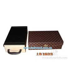 2013年春节新款 厂家供应 六只葡萄酒盒 红酒 单只酒盒 六只酒盒木质品包装 (飞展红酒盒)