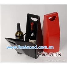 10月特价  供应优质红酒盒,双瓶装红酒盒套装 (上海飞展红酒盒)