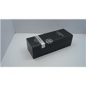 单支黑色红酒纸盒/丝带红酒纸盒/高档红酒纸盒/设计定做红酒纸盒