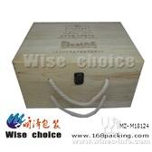 六只装红酒盒 木制红酒盒 红酒礼盒 葡萄酒盒