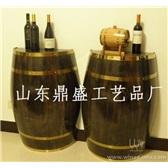 【12.12】红酒装饰桶橡木酒桶木桶酒窖专用装饰桶225L装饰木桶半个红酒大桶
