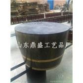 225L装饰酒桶酒窖专用红酒木桶橡木桶定做红酒装饰桶批发橡木酒桶