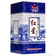红星蓝花瓷珍品二锅头46度(清香型)