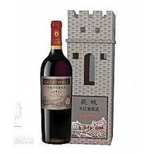 长城五星 5星干红 赤霞珠葡萄酒 750ml 城堡木盒
