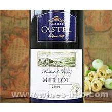 进口红酒 法国卡斯特兄弟公司 castel美露高级珍藏干红葡萄酒