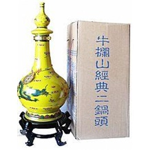北京二锅头酒 牛栏山二锅头经典黄瓷6000ml