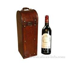 现货红酒盒  皮质红酒盒 2月特价销售