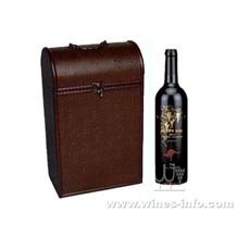 现货热卖 PU红酒盒  飞展皮质红酒盒  现货热卖 2月特价