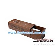 2月上海飞展供应红酒包装盒高档油漆实木酒盒(图)